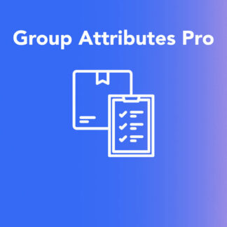 WooCommerce Group Attributes Plugin - Gives you more possibilities to display product attributes